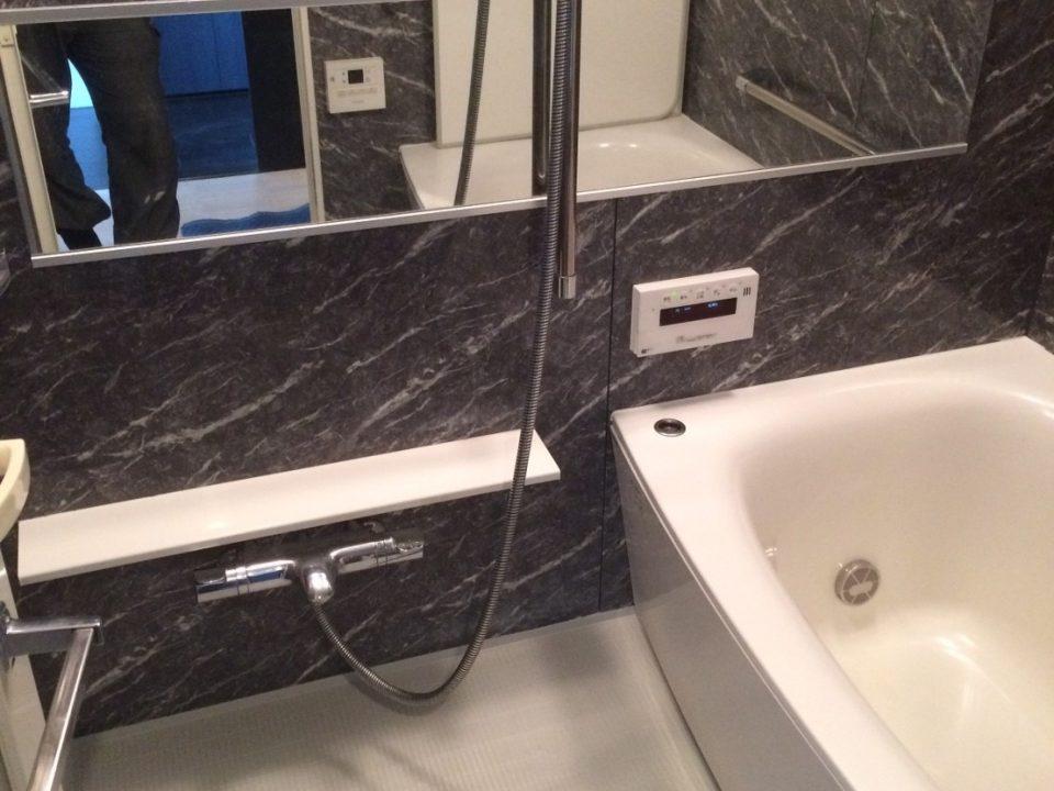 京都市中京区で浴室と洗面室クリーニング [after]