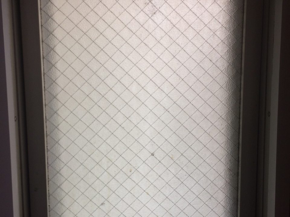 東京都新宿区で窓ガラスクリーニング [before]