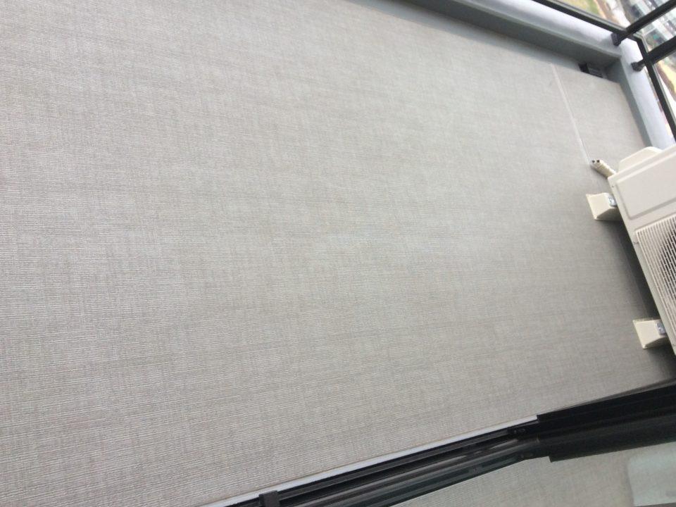 大阪市中央区高津のシャリエ日本橋高津でベランダクリーニング