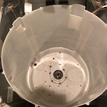 京都府京都市西京区山田大吉見町の桂平安マンションで洗濯機クリーニング