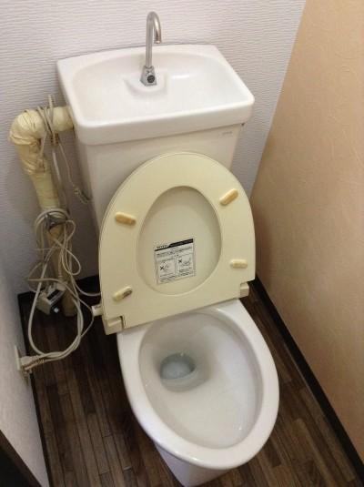 大阪府堺市北区中百舌鳥本町のいたすけ公園近くの戸建て住宅でトイレクリーニング [after]