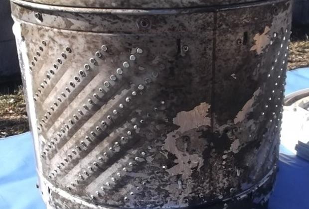 兵庫県伊丹市桑津で洗濯機クリーニング [before]