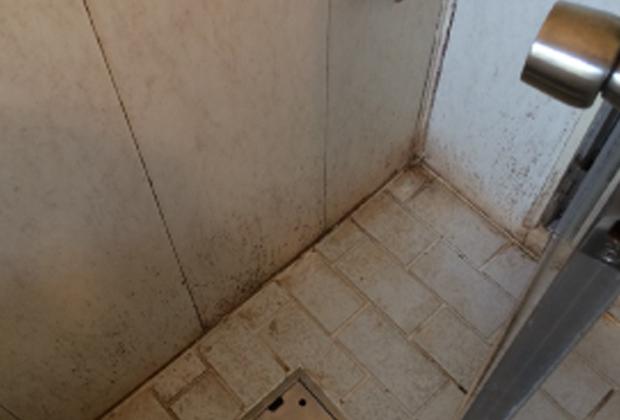 大阪府寝屋川市池田で浴室クリーニング [before]