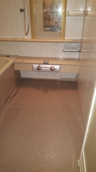 堺市堺区出島海岸通のNOUVELLE VIEで浴室クリーニング [after]