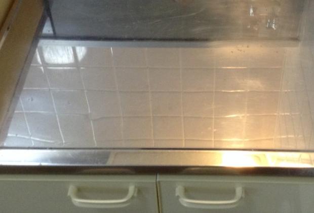大阪府堺市美原区阿弥の舟渡池公園そばの戸建て住宅でキッチンクリーニング [after]
