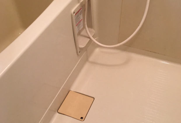 愛知県名古屋市大杉の大杉公園そばの戸建て住宅で浴室クリーニング