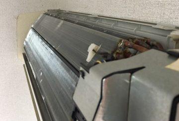 大阪府枚方市のサニーウェルでエアコンクリーニング