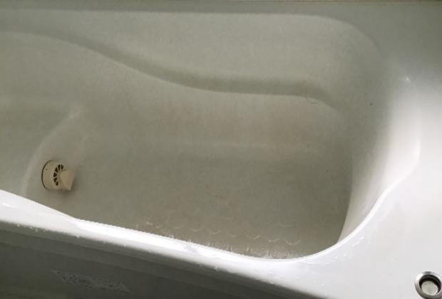 京都府京都市中京区御供町三条通猪熊西入のファインフラッツ三条通で浴室クリーニング [before]
