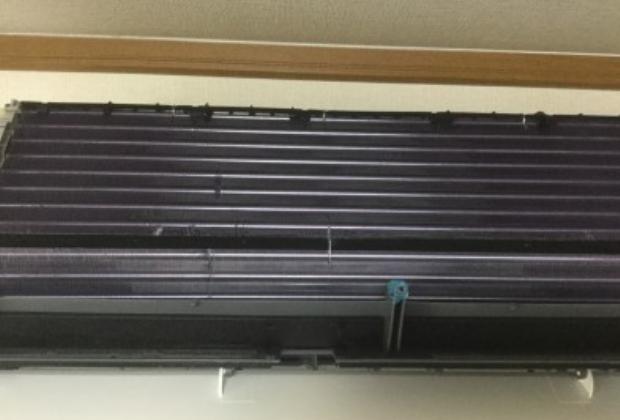 兵庫県姫路市余部区の源明公園そばの戸建て住宅でエアコンクリーニング [after]